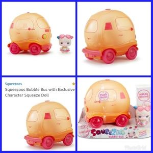 Other - Sqeezoo bubble bus with special character